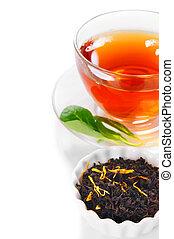 Tea black .