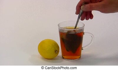 Tea - Black tea with lemon