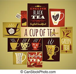 Tea collection.