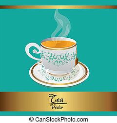tea cup background