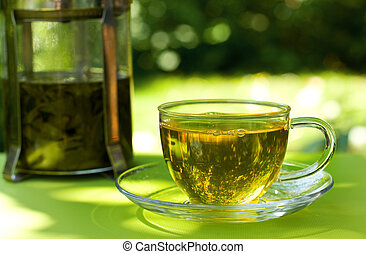 tea  - cup of green tea