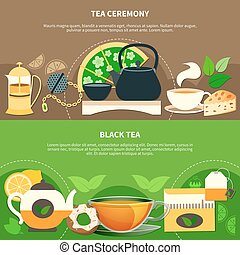 Tea Horizontal Banners
