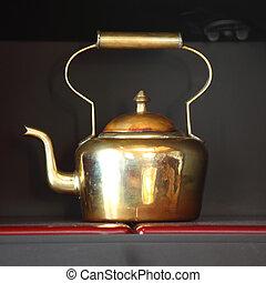 tea in pot