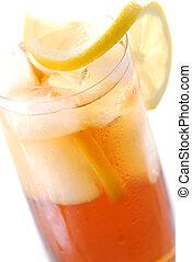 tea, jégbe hűtött