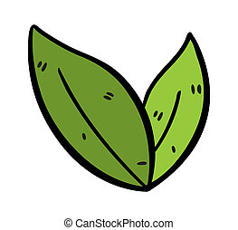 tea leaves doodle