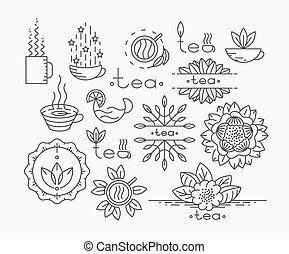 Tea mono line elements