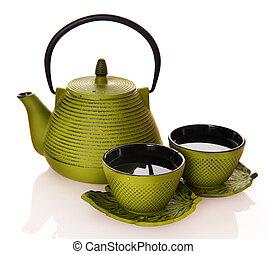 Tea Over White