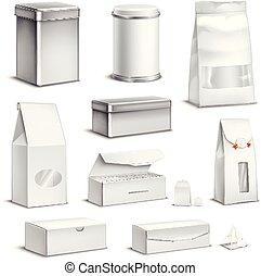 Tea Packaging Set