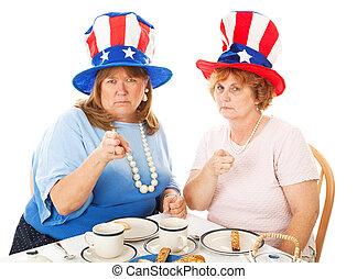 Tea Party Voters - Upset