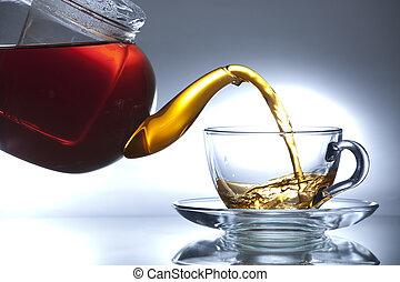 Tea - Flowing tea
