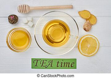 TEA time concept.