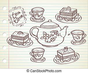 tea time doodle