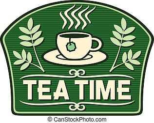 tea time label