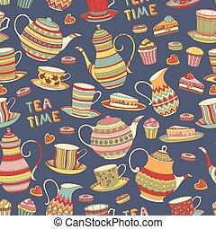 Tea Time Pattern