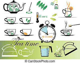 Tea time set