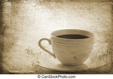 tea time - special toned great for your design and art-work,...