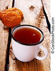 Tea with Cookies.