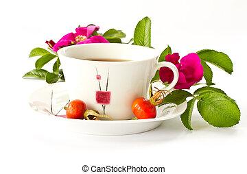 tea with rosehip