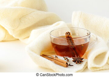Tea with spices