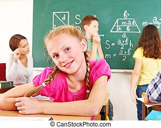 teacher., écolier