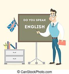 teacher., マレ, 英語