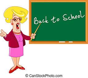 Teacher - Cartoon teacher