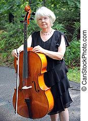 teacher., cello
