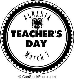 Teacher Day in Albania