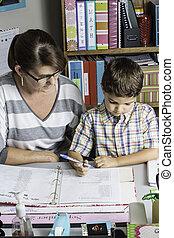 Teacher Helping 2