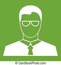 Teacher icon green