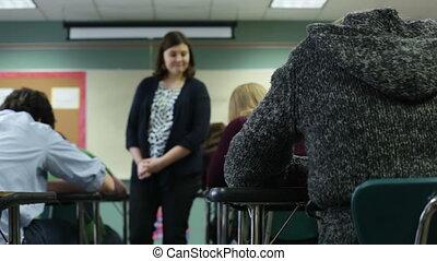Teacher monitoring test