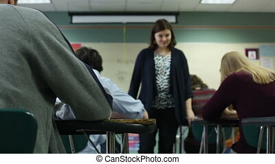 Teacher monitoring test - High school teacher monitoring...