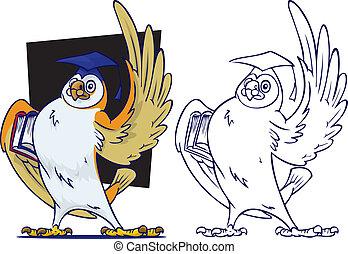 Teacher Owl - An Owl symbolizing the process of education...