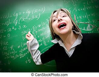 teacher say