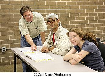 Teacher & Students