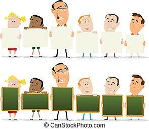 Teachers And Child Classroom Set