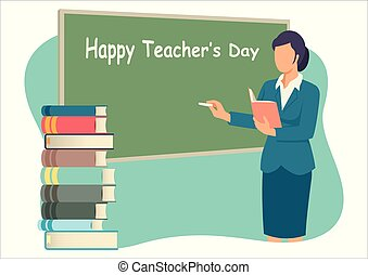 teacher?s, szczęśliwy, dzień