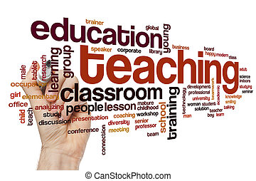 Teaching word cloud