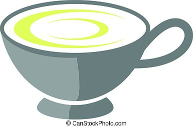 teacup filled with tea