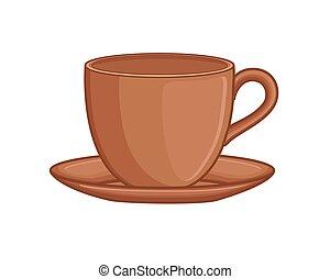 Teacup Vector Illustration