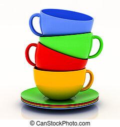 teacup with saucer