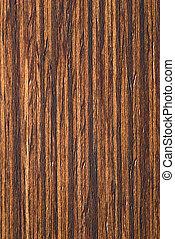 teak, legno, naturale, impiallacciatura