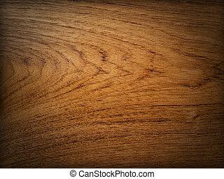 teak, madera, plano de fondo