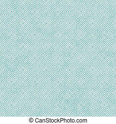 Teal and White Square Geometric Repeat Pattern Background...