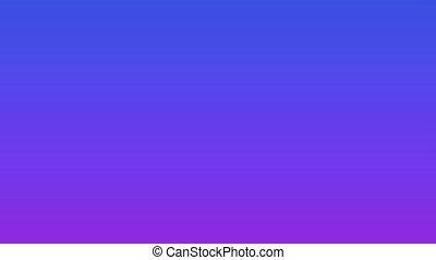 Teal bubble crashing on blue purple background - Animation ...