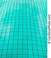 Teal color grid