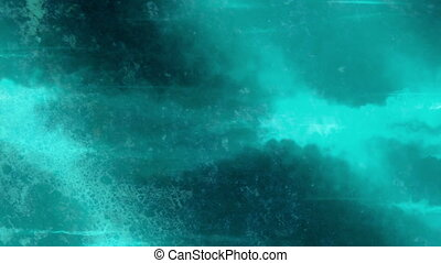 Teal looping abstract animated texture