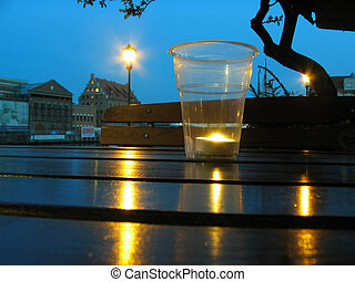 tealight, perspective
