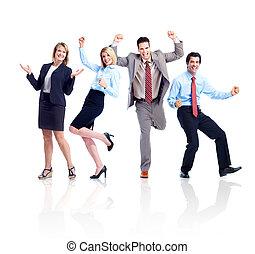 team., ευτυχισμένος , αρμοδιότητα ακόλουθοι