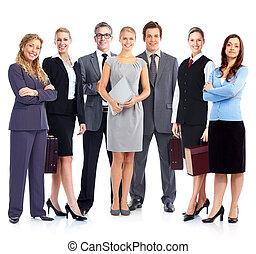 team., ビジネス 人々